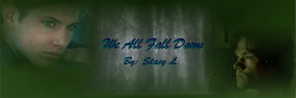 Banner for We All Fall Down by Stacy L.