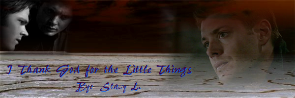 Banner for I Thank God for the Little Things by Stacy L.