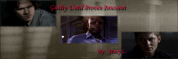 Banner for Guilty Until Proven Innocent by Stacy L.